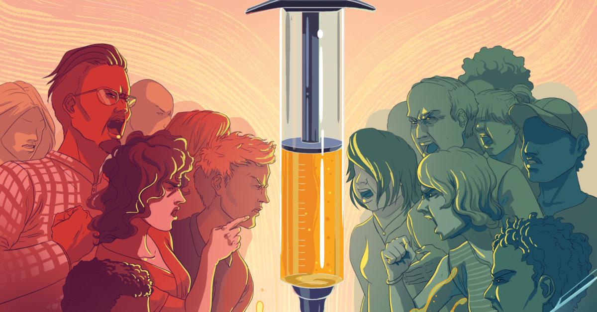 Aşı-lacak İlk Engel: Aşı Karşıtlarını Ne Yapacağız?